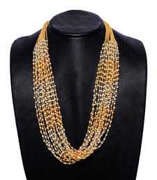 Buy Gold Pearl necklaces Necklace online