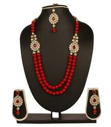 Buy Multicolor crystal necklace-sets necklace-set online