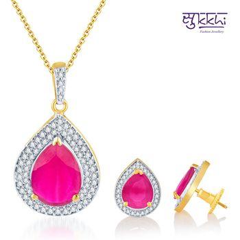 Sukkhi Delightful Gold and Rodium plated