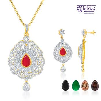Sukkhi Intricately Crafted Gold and Rodi