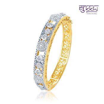 Sukkhi Eye-Catchy Gold and Rodium plated