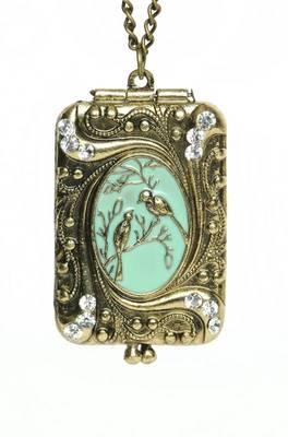 Vintage Locket Neckpiece(CFN0051)