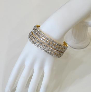 Traditional Diamond Bangles