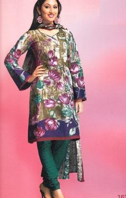 Cotton Dress Material Elegant Designer Unstitched Suit 1615
