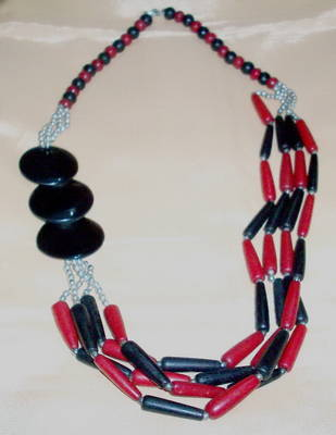 Fashion Wooden Neckpiece