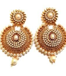 Buy White Pearl danglers-drops danglers-drop online