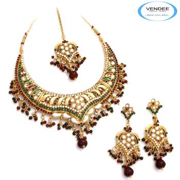 Vendee Fashion Traditional Wear Necklace
