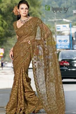 chai designer saree 3013