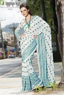 chai designer saree 3022