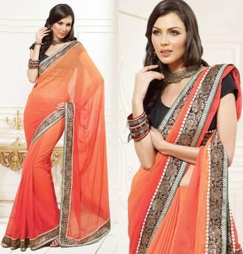 Zing Designer Sari 1204