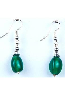 Piebee - Genuine Green Onyx Earring