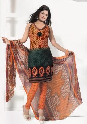 Crepe Dress Material Elegant Designer Unstitched Salwar Suit D.No7292