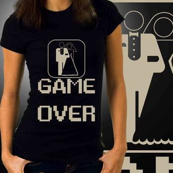 Game Over Womens Graphic T-shirt