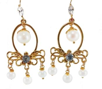 Buy white pearl chandelier earrings online white pearl chandelier earrings aloadofball Choice Image