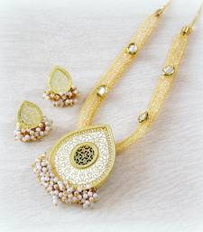 Buy FINE CZ FILLED CHAIN THEWA NECKLACE SET necklace-set online