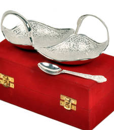 Buy Silver Polish Brass Duck Shape Bowl Mothers Day gifts-for-mom online