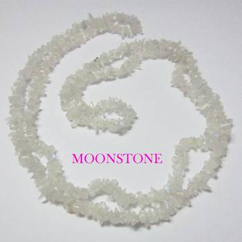 Moonstone Uncut Beads