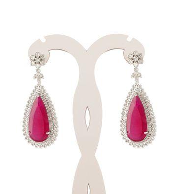 Sihiri Majestic Pink Earrings