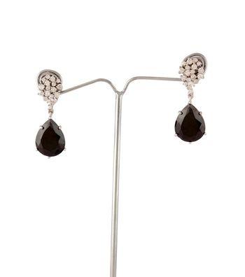 Sihiri Magical Black Drop Earrings