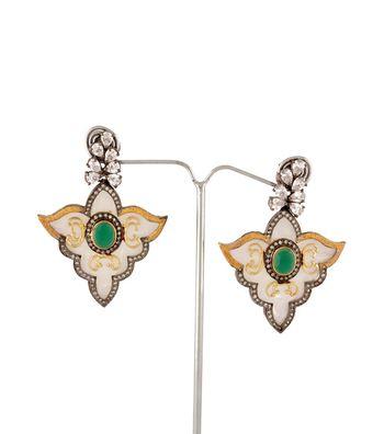 Sihiri Leafy  Delight Earrings