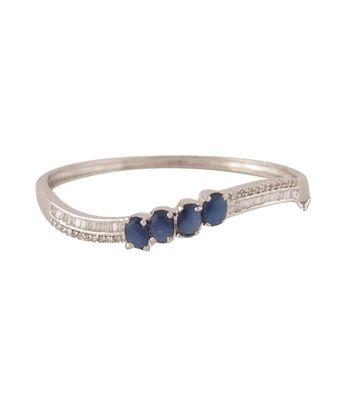 Sihiri CZ Blue Bracelet 2