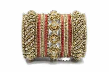 Red zircon bangles-and-bracelets