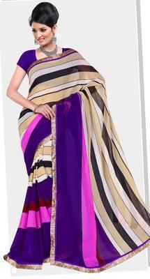 Elegant Indian Designer Sari Amaze181 B