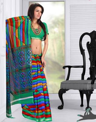 Elegant Indian Designer Sari Amaze186
