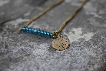 Crystals and Coins Necklace