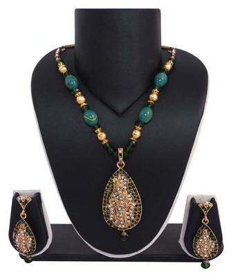 Sukkhi Traditional Gold plated Pendant Set 1002V