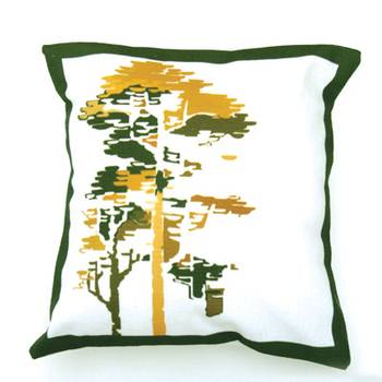 Green Freshness cushion cover