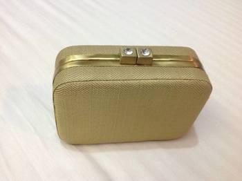 GOLD BOX CLUTCH
