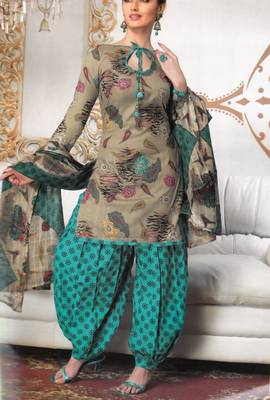 Cotton Dress Material Elegant Designer Unstitched Salwar Suit D.No 3194