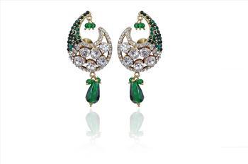 Hot Fashion Women's  Green earrings