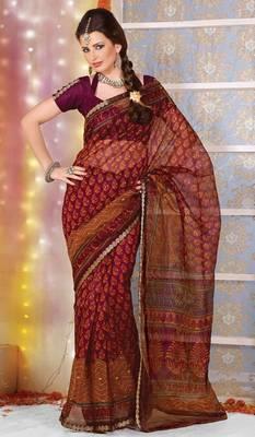 Designer Supernet Sari Jadoo1129