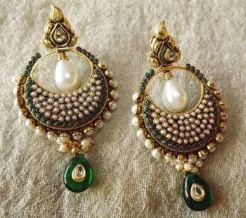 Beautiful Ethnic Earrings-Perfect with your Indian Outfit