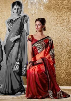 Elegant Designer Sari Gun8411c