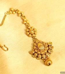 Buy Yellow Gold maang-tikka maang-tikka online