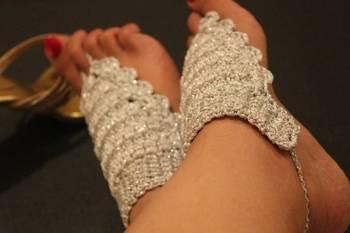 Silver Barefeet sandals