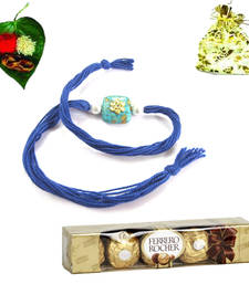 Buy Bhaiya Rakhi  with Chocolate rakhi-with-chocolate online