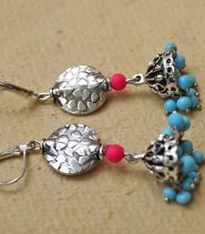 Buy turquoise cute jhumka jhumka online