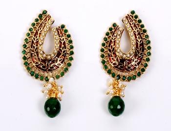 Designer Coral Earring