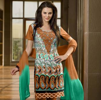 Designer Dress Material MASALA 6007 D