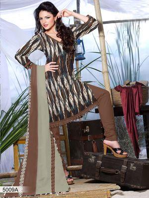 Designer Dress Material DRAPE 5009 A
