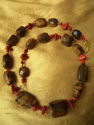 Tiger's Eye Necklace -090142